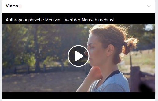 Video Anthroposophische Medizin